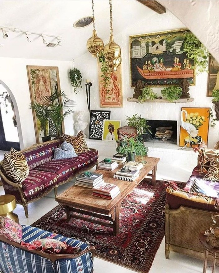 Perfectly Bohemian Living Room Design Ideas 06
