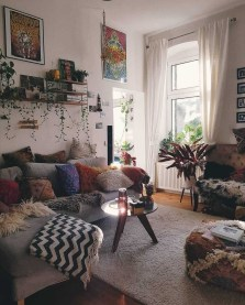 Perfectly Bohemian Living Room Design Ideas 19