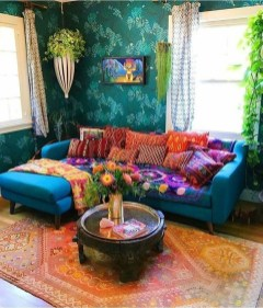 Perfectly Bohemian Living Room Design Ideas 28