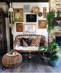 Perfectly Bohemian Living Room Design Ideas 46