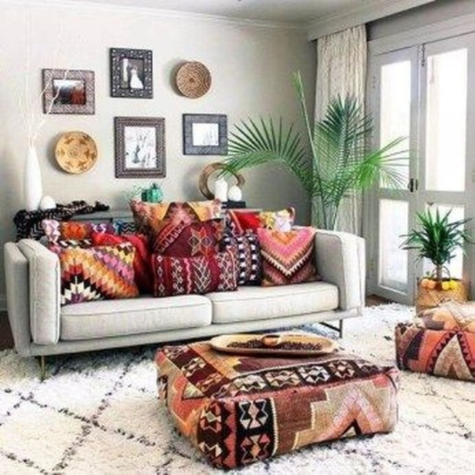 Perfectly Bohemian Living Room Design Ideas 49