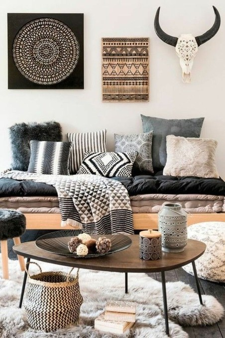Perfectly Bohemian Living Room Design Ideas 50