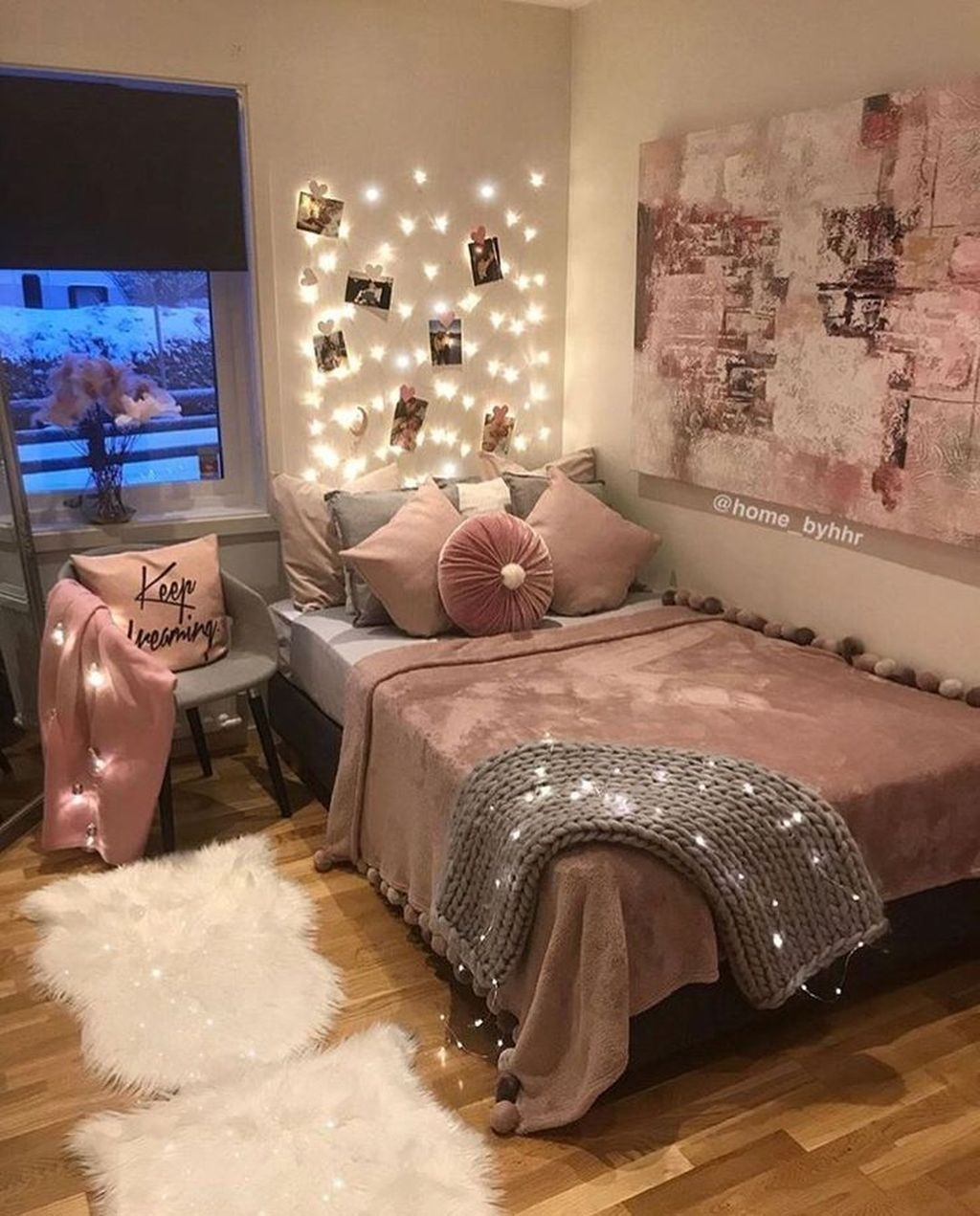 Pink Bedroom Decor You Can Try On Your Own 17