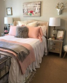 Pink Bedroom Decor You Can Try On Your Own 29