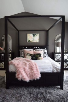 Pink Bedroom Decor You Can Try On Your Own 47
