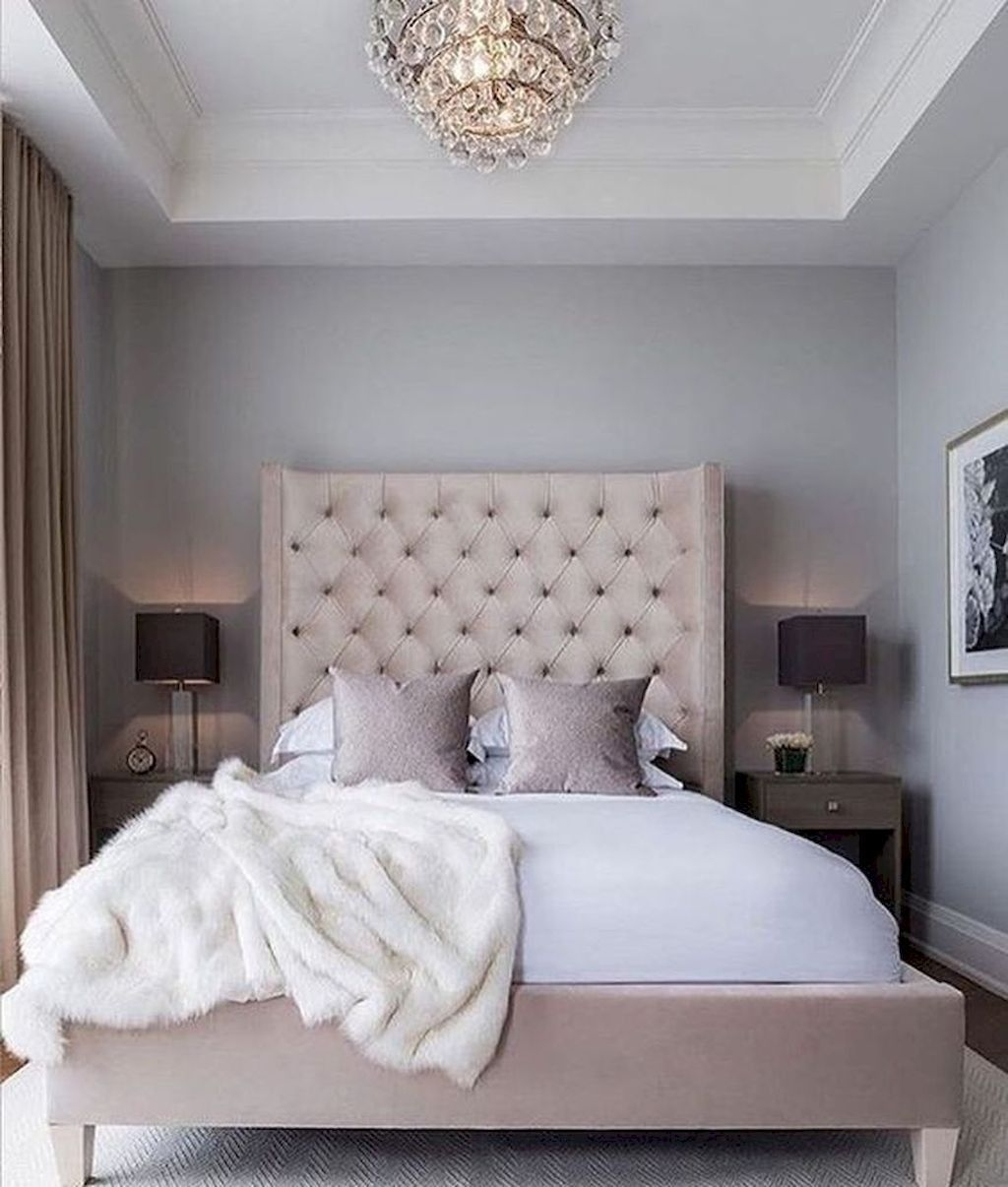 Small Master Bedroom Design With Elegant Style 02