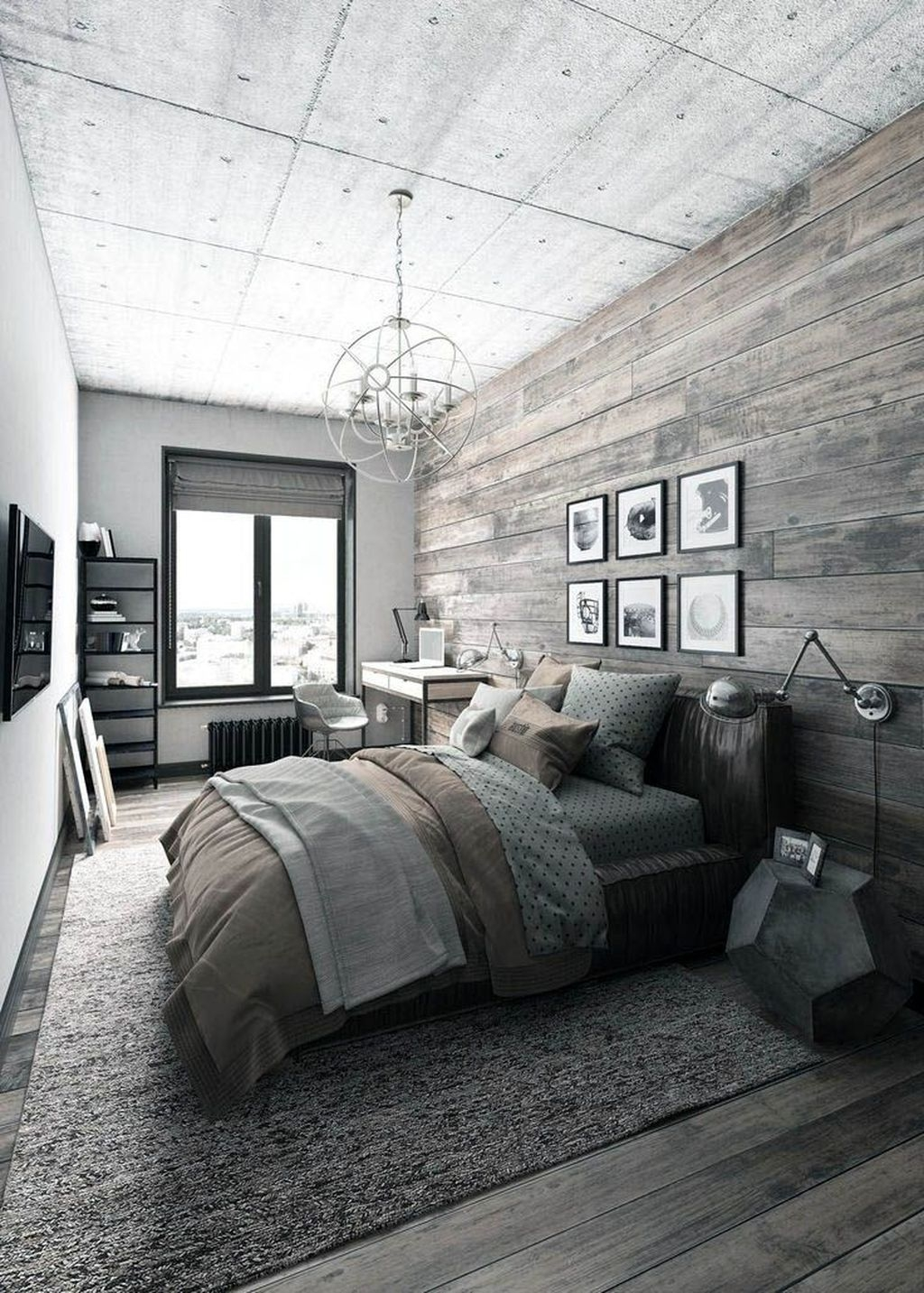 Small Master Bedroom Design With Elegant Style 19