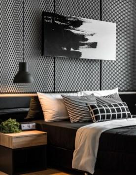 Stunning Modern Black Home Decor 06