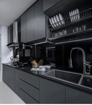 Stunning Modern Black Home Decor 09