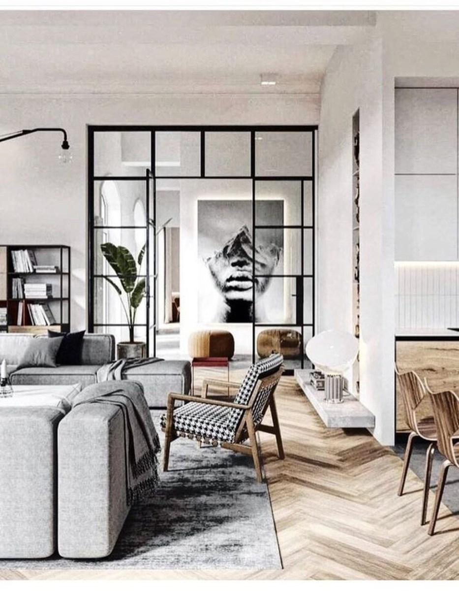 Stunning Modern Black Home Decor 21