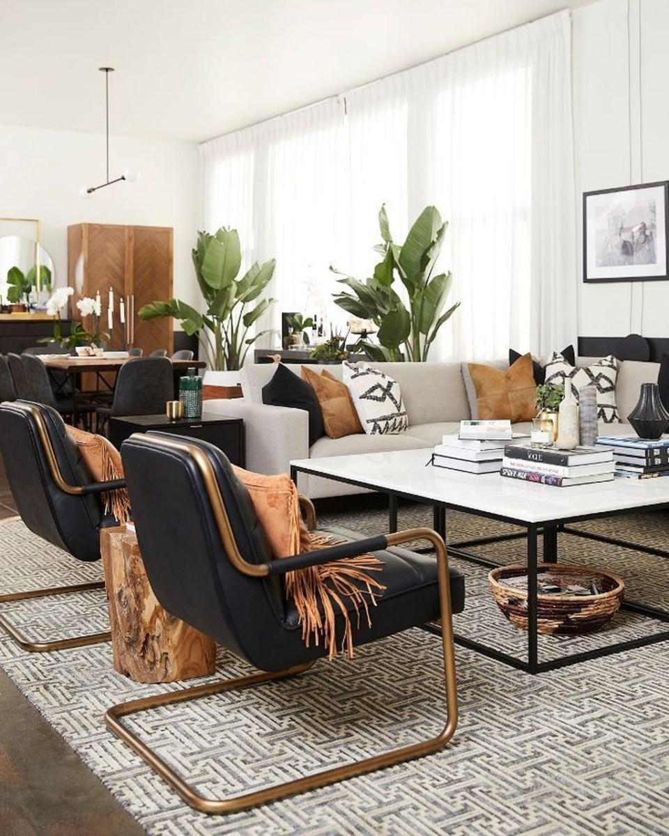 Stunning Modern Black Home Decor 24