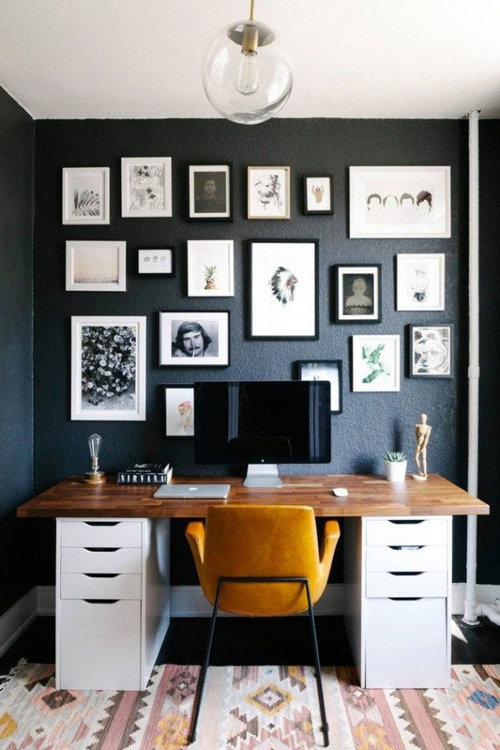Stunning Modern Black Home Decor 28
