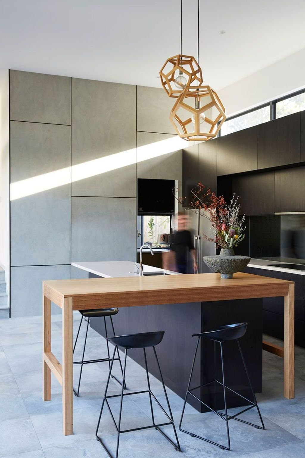 Stunning Modern Black Home Decor 41