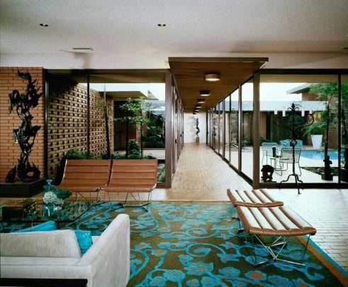 Stunning Modern Mid Century Living Room Design 06
