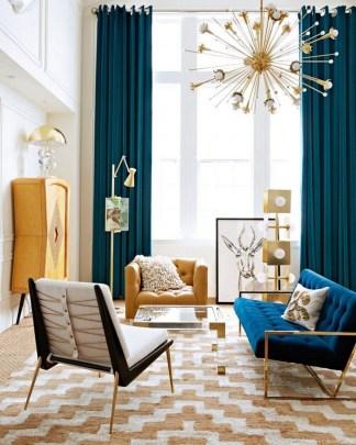 Stunning Modern Mid Century Living Room Design 08