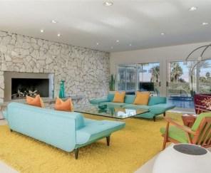 Stunning Modern Mid Century Living Room Design 16