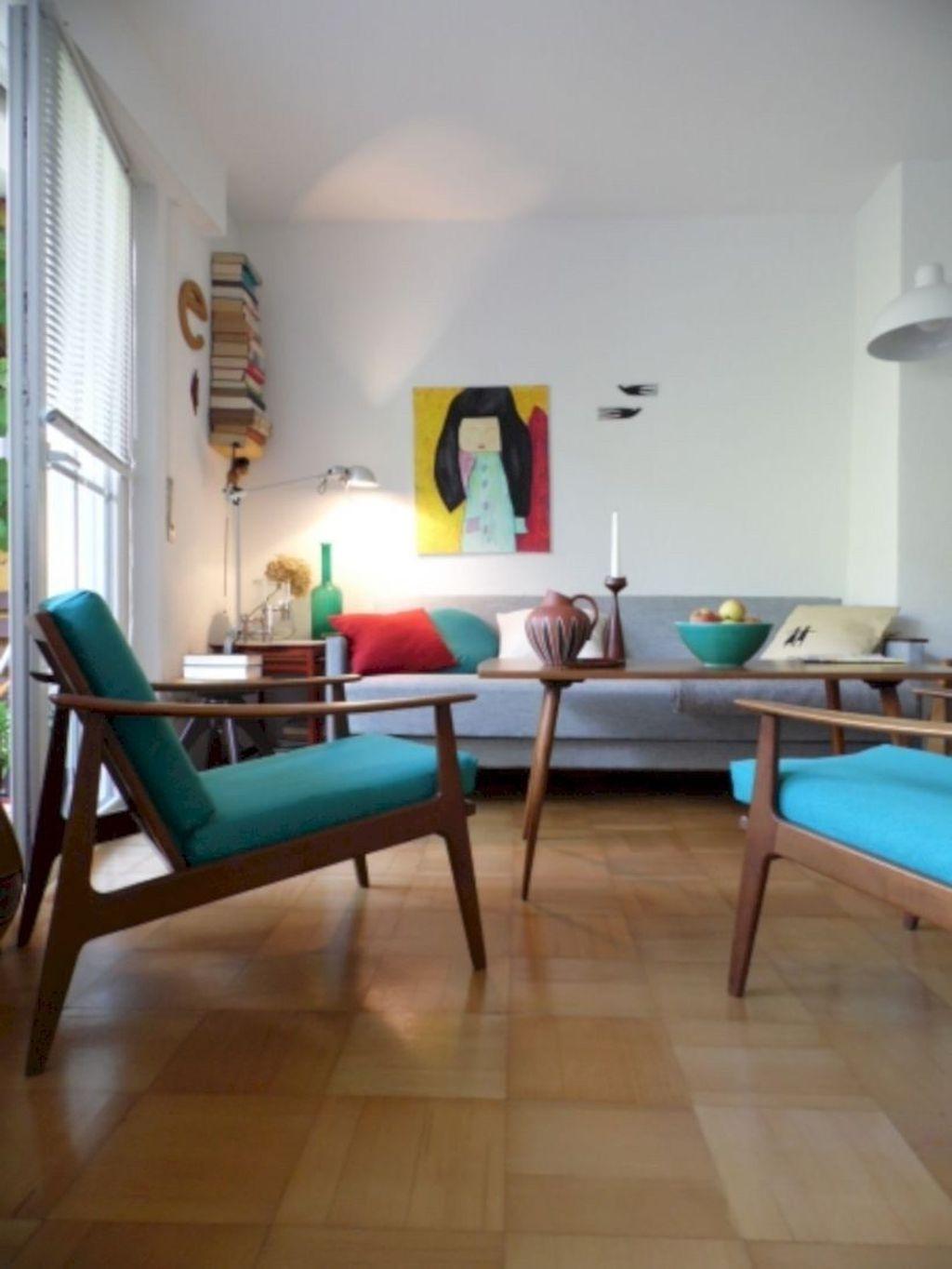 Stunning Modern Mid Century Living Room Design 21