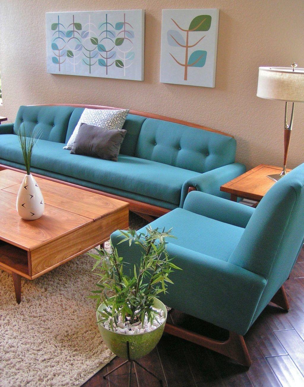 Stunning Modern Mid Century Living Room Design 29