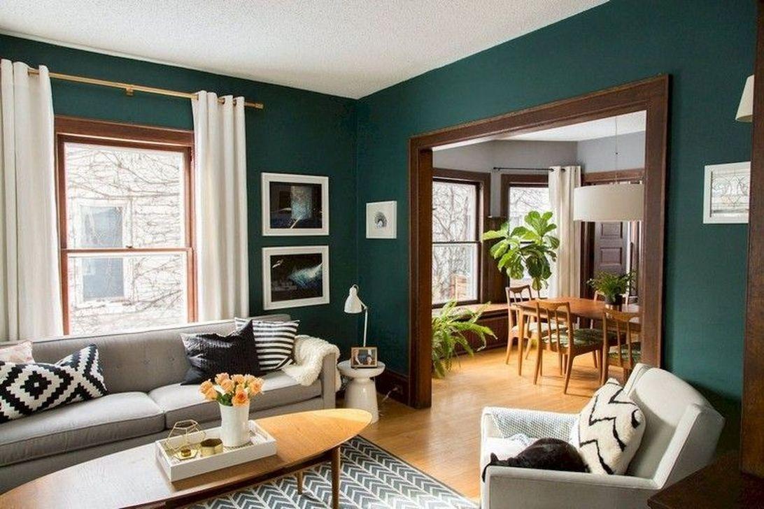 Stunning Modern Mid Century Living Room Design 41