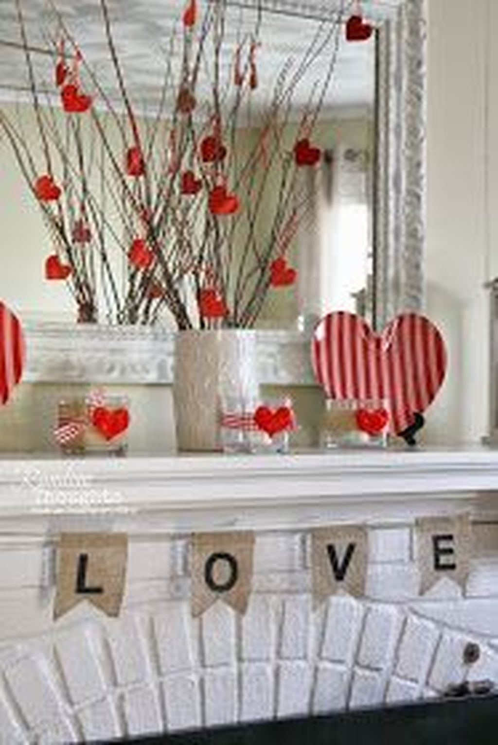 Sweet Valentines Day Bathroom Decor, Forget The Old One 03