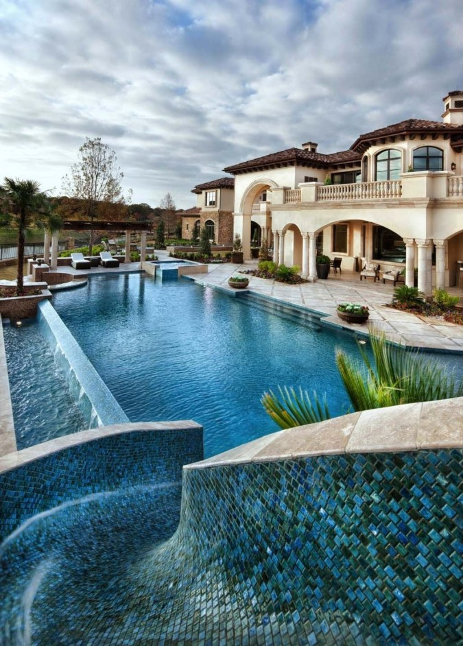 The Best Mediterranean Swimming Pool Design 27