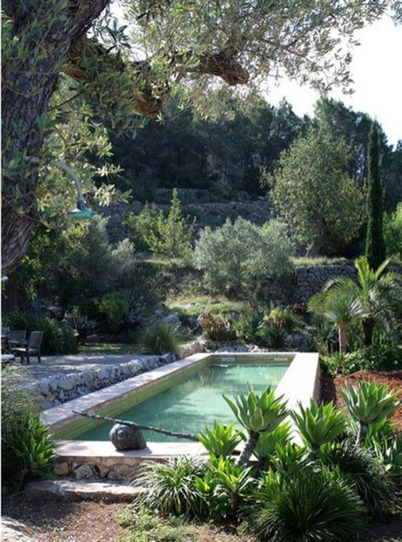 The Best Mediterranean Swimming Pool Design 48