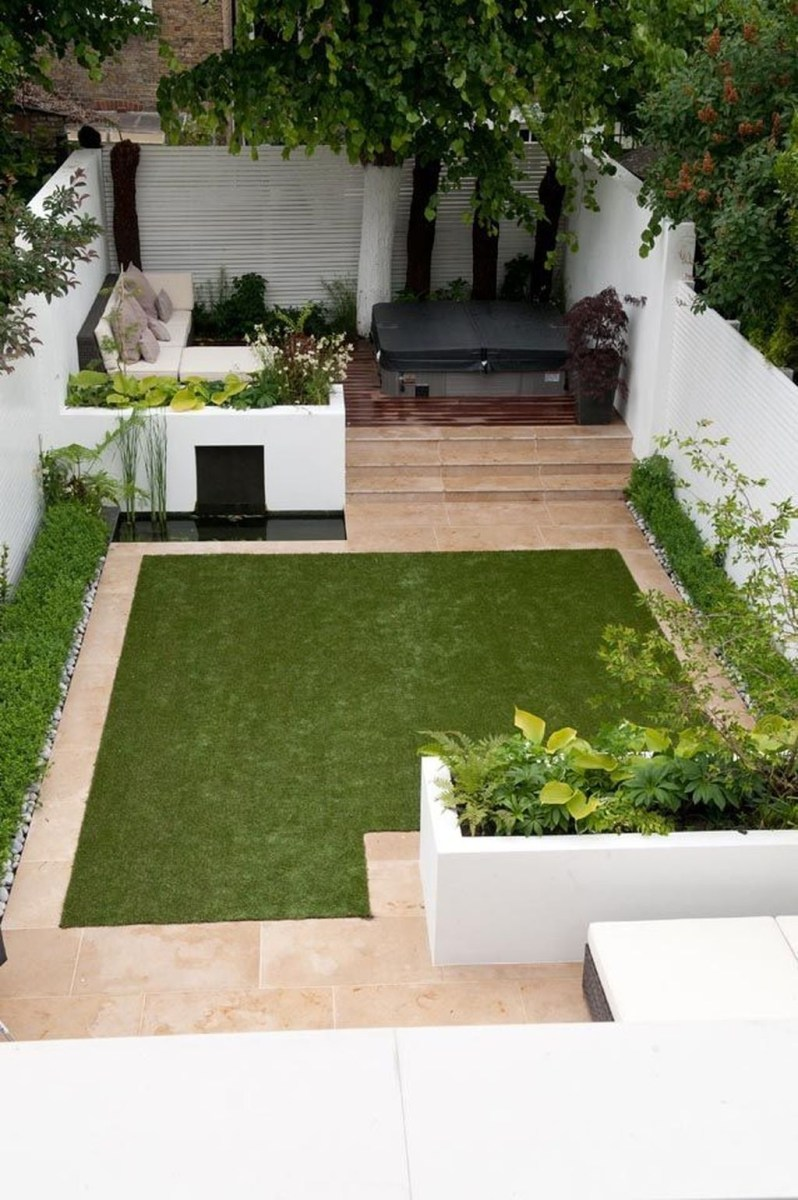 Tiny Yard Garden Design You Can Try Right Away 03