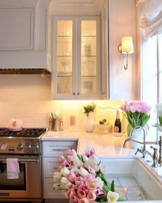 Upgrading Your Wall For Romantic Kitchen Decorations 11