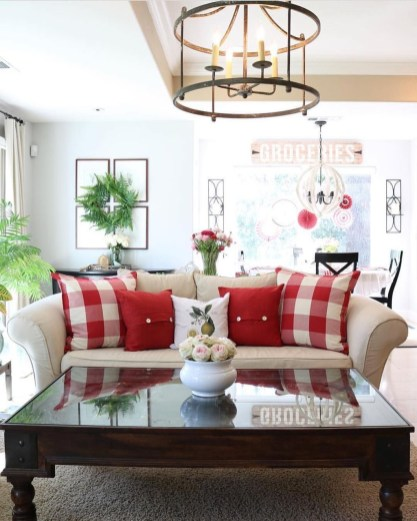 Valentines Day Home Decor With White Color Scheme 04