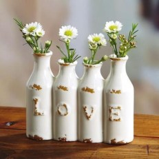 Valentines Day Home Decor With White Color Scheme 19