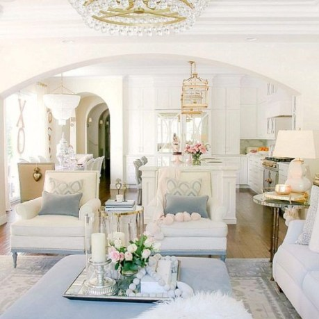 Valentines Day Home Decor With White Color Scheme 24