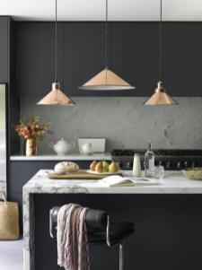 Black Kitchen Design Ideas With White Color Accent 03