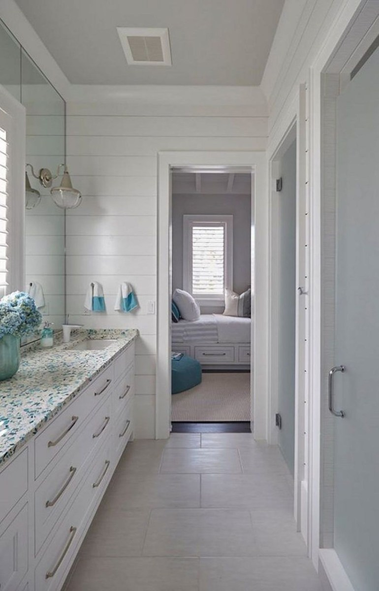 Nice Bathroom Decoration With Coastal Style 10