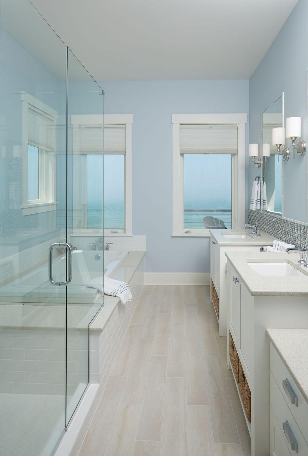 Nice Bathroom Decoration With Coastal Style 30