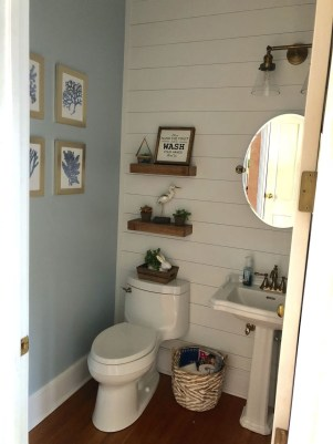 Nice Bathroom Decoration With Coastal Style 45