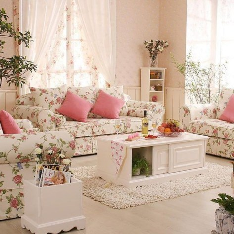 Nice Shabby Chic Living Room Decor You Need To Have 33