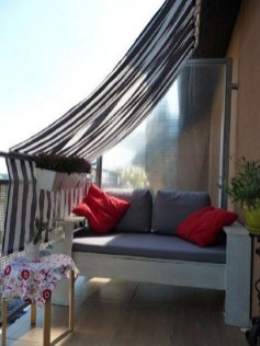 Popular Apartment Balcony Design For Small Spaces 13