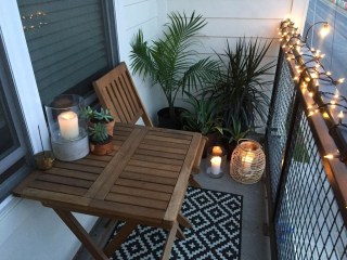 Popular Apartment Balcony Design For Small Spaces 31