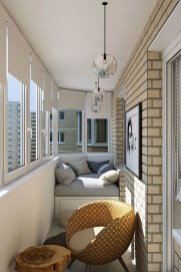 Popular Apartment Balcony Design For Small Spaces 50