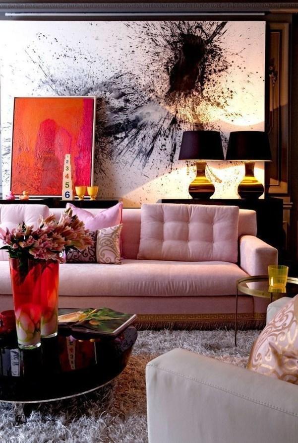 Contemporary Home Design Ideas For Living Room 30