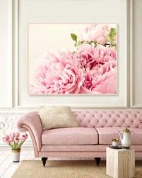 Lovely Pink Living Room Decor Ideas 17
