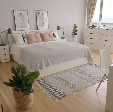 Minimalist Scandinavian Bedroom Decor Ideas 06