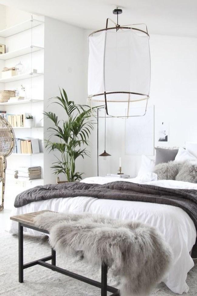 Minimalist Scandinavian Bedroom Decor Ideas 09