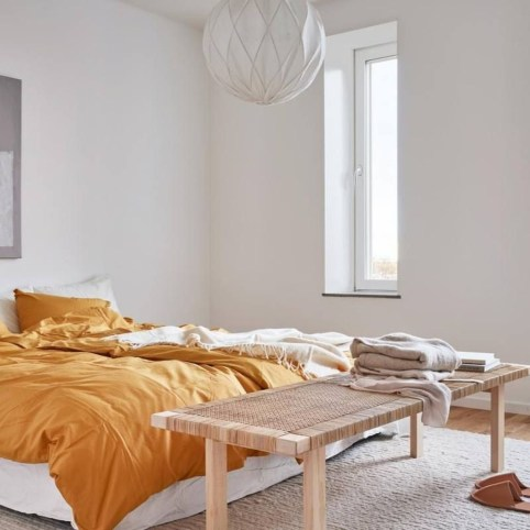 Minimalist Scandinavian Bedroom Decor Ideas 10
