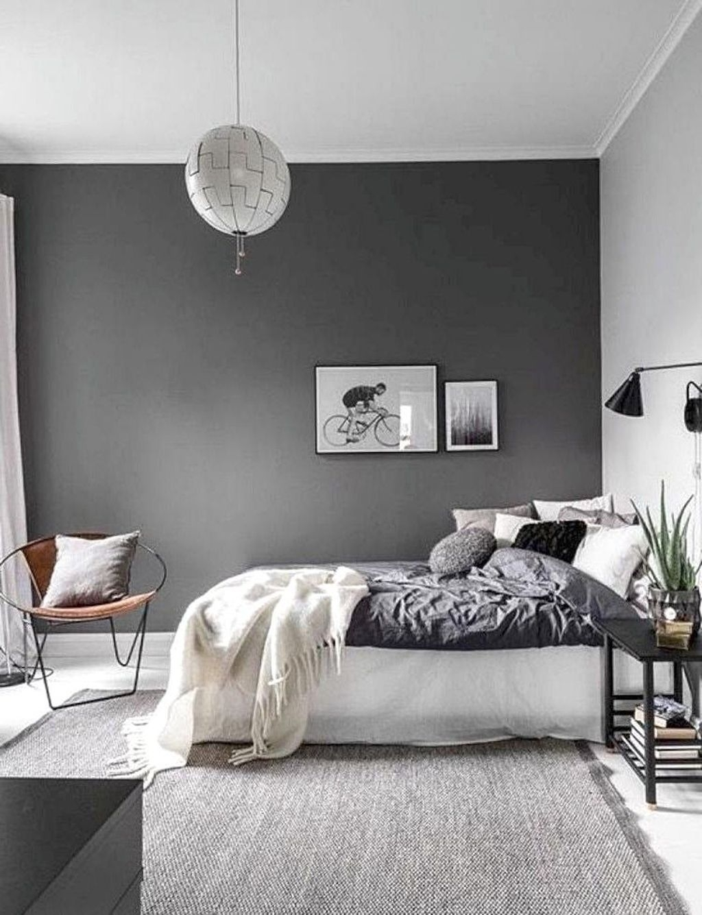 Minimalist Scandinavian Bedroom Decor Ideas 14