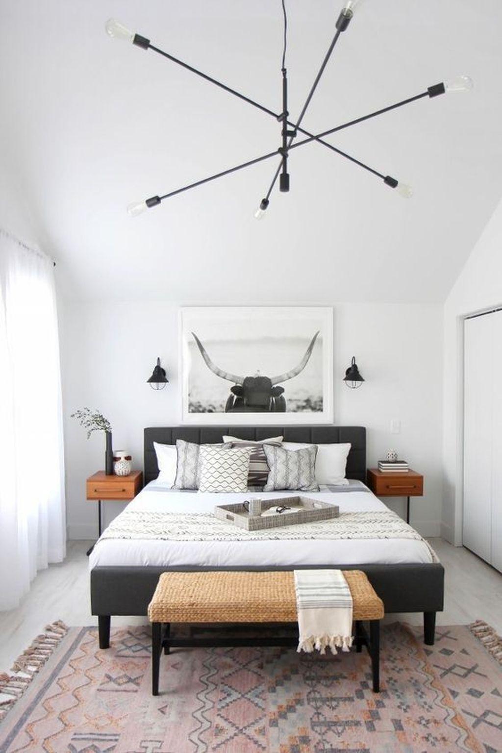 Minimalist Scandinavian Bedroom Decor Ideas 16