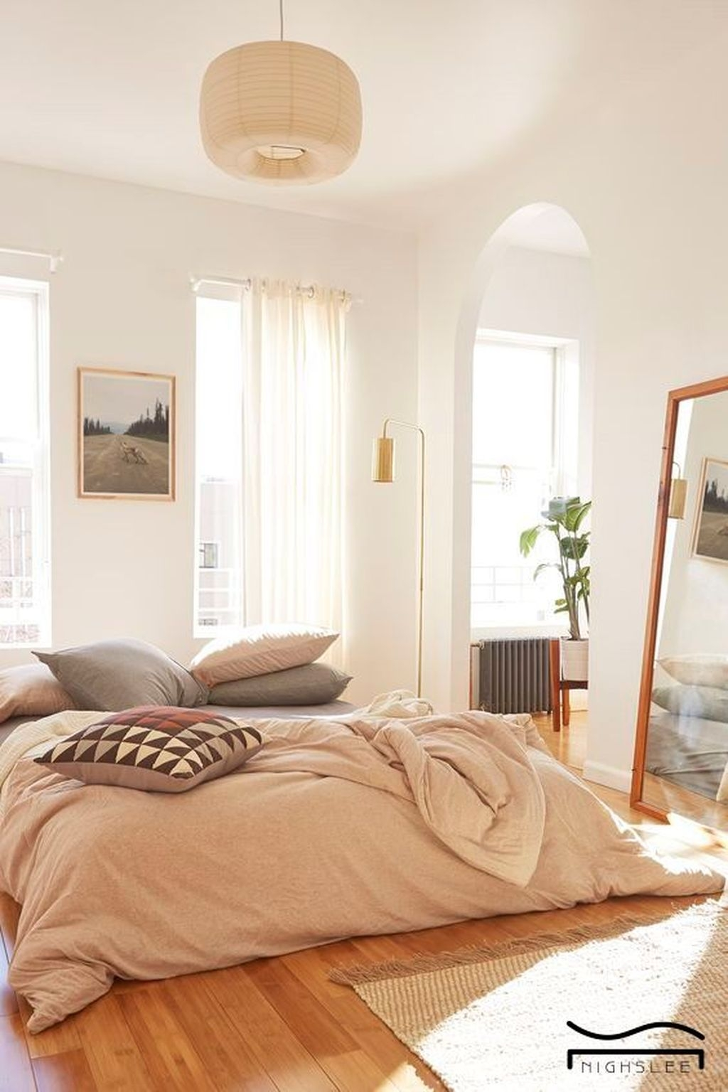 Minimalist Scandinavian Bedroom Decor Ideas 17