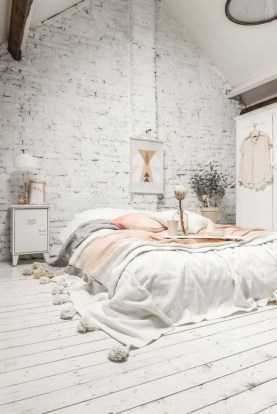 Minimalist Scandinavian Bedroom Decor Ideas 18