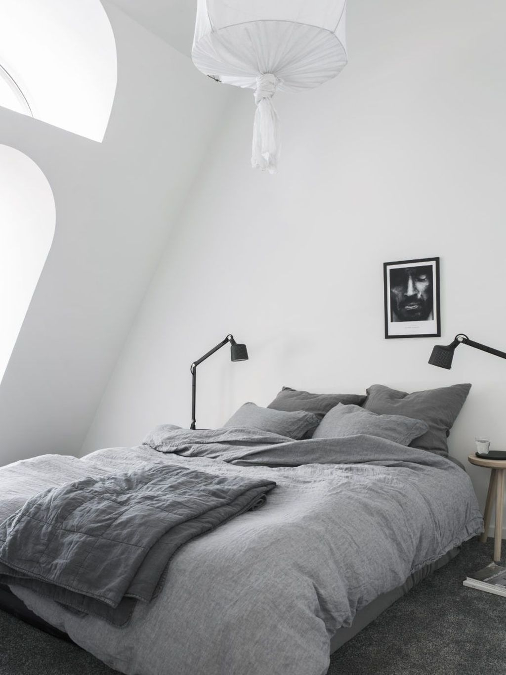 Minimalist Scandinavian Bedroom Decor Ideas 23
