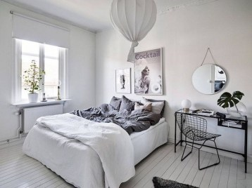 Minimalist Scandinavian Bedroom Decor Ideas 25